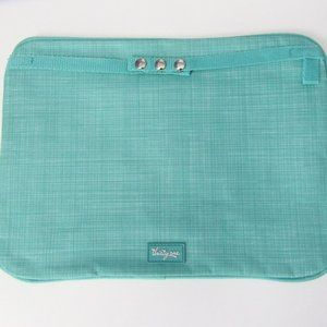 8 pieces Thirty One Pocket-A-Tote in Turquoise
